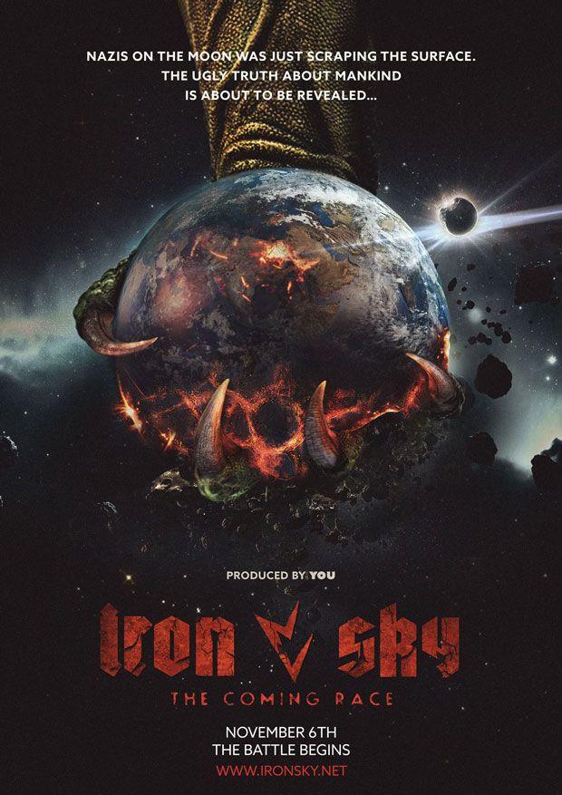 Iron Sky Second Race Poster