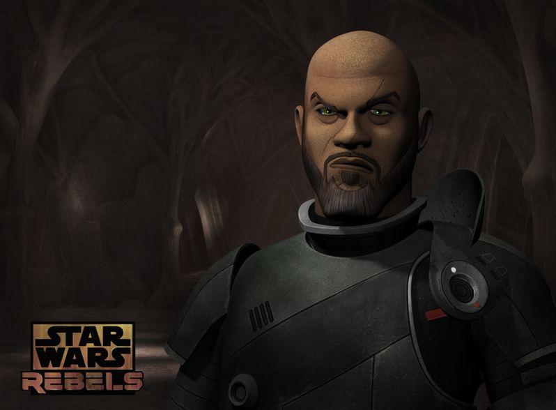 Saw Gerrera <strong><em>Star Wars Rebels</em></strong> Season 3