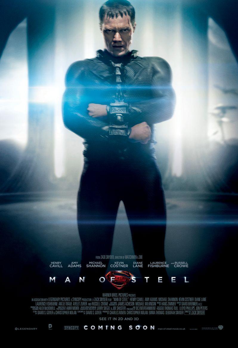 <strong><em>Man of Steel</em></strong> Poster #2