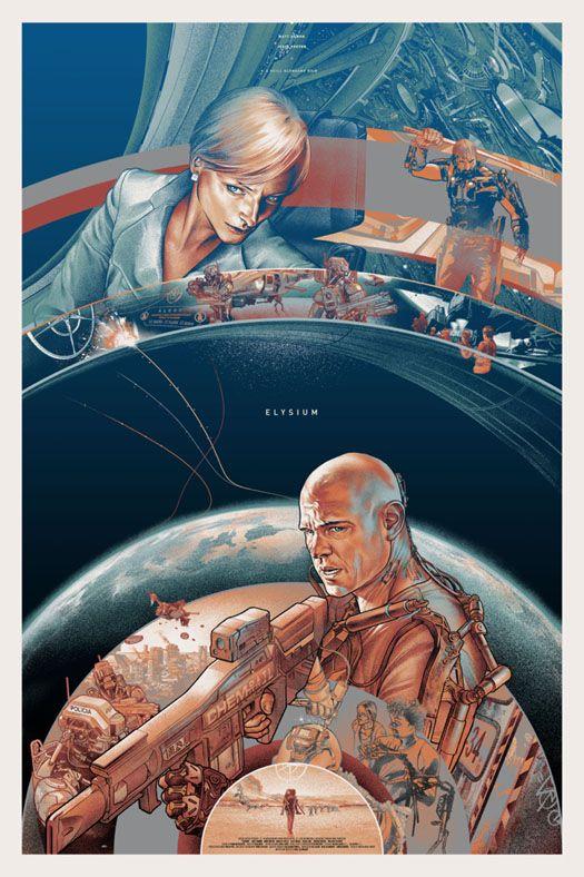 <strong><em>Elysium</em></strong> Mondo Poster 2