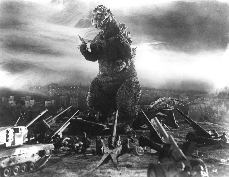 <strong><em>Godzilla</em></strong> Photo