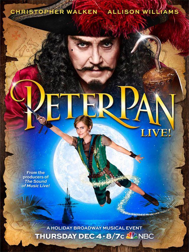 <strong><em>Peter Pan Live!</em></strong> Poster