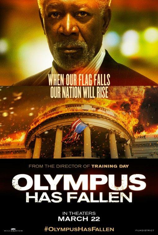 <strong><em>Olympus Has Fallen</em></strong> Morgan Freeman Character Poster