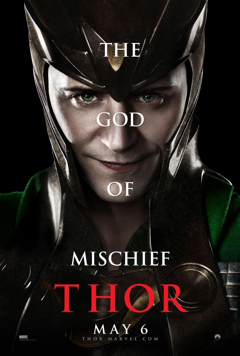 <strong><em>Thor</em></strong> Tom Hiddleston Character Poster
