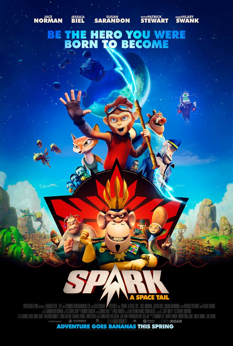 Spark a Space Tail Poster