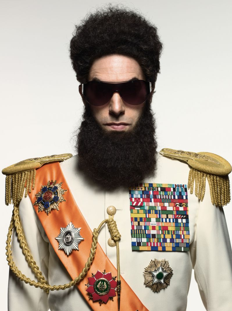 Sacha Baron Cohen as <strong><em>The Dictator</em></strong>