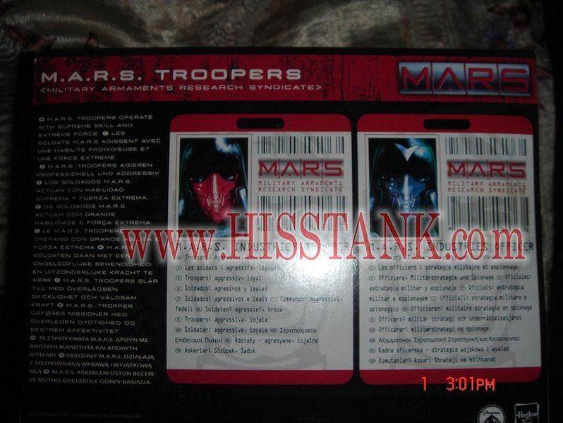 G.I. Joe Movie M.A.R.S. Troopers