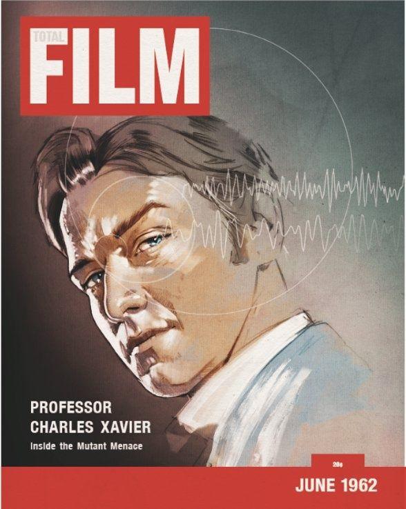 X-Men First Class Total Film Magazine Cover #2