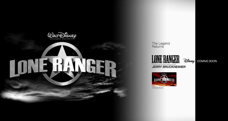 <strong><em>The Lone Ranger</em></strong> Logo