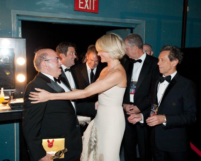 2012 Academy Awards Backstage photo 1