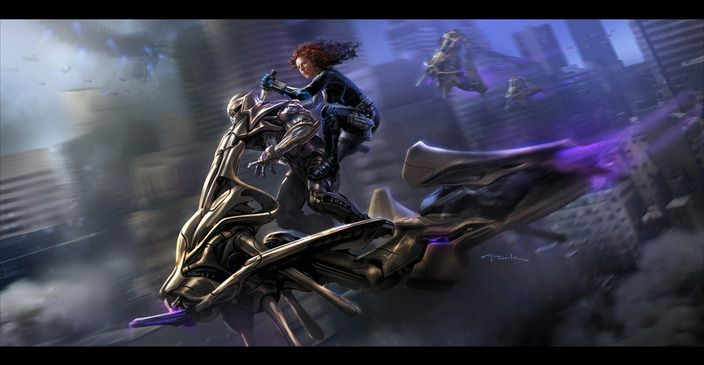 <strong><em>Marvel's The Avengers</em></strong> concept art 5