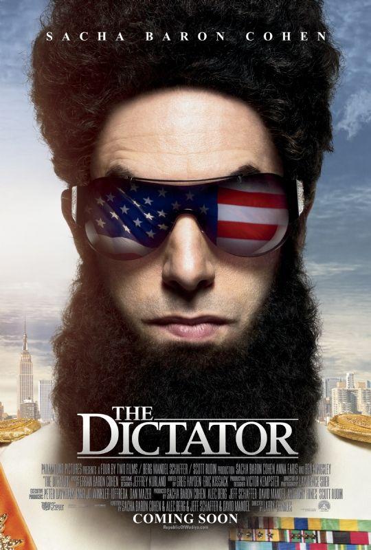 <strong><em>The Dictator</em></strong> Poster #3