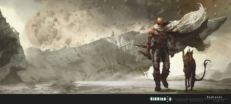 <strong><em>Riddick</em></strong> Concept Art