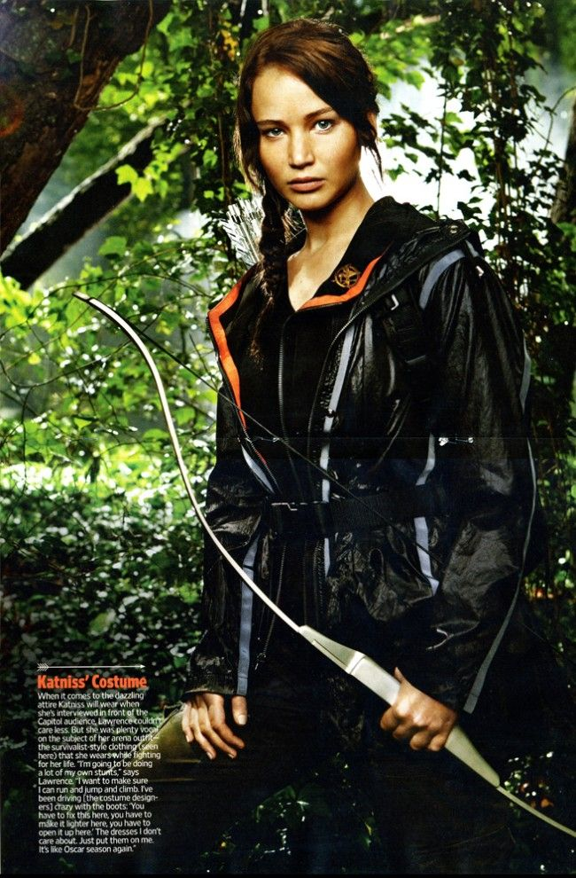 <strong><em>The Hunger Games</em></strong> Jennifer Lawrence Photo #2