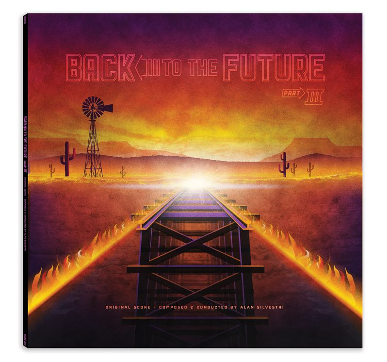 Back to the Future trilogy Soundtrack Vinyl photo 5