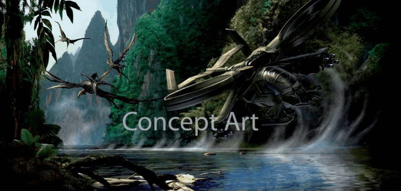 Concept Art from James Cameron's <strong><em>Avatar</em></strong>