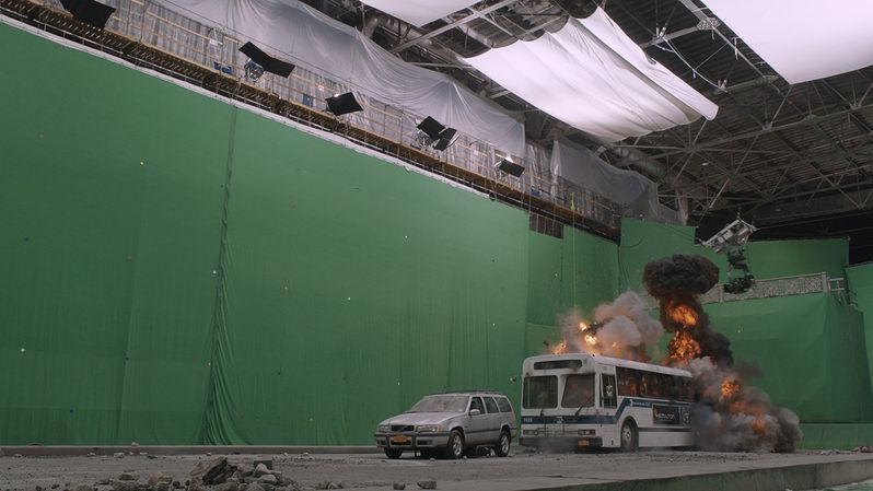 The Avengers special FX photo 3a
