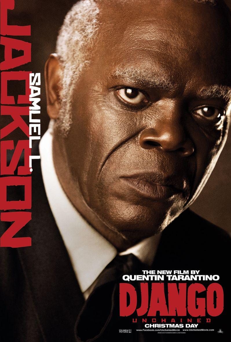<strong><em>Django Unchained</em></strong> Samuel L. Jackson Poster