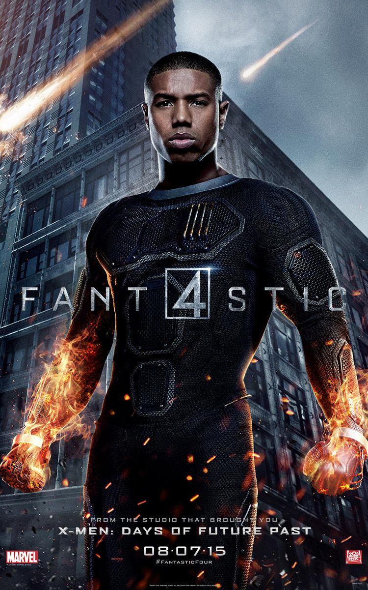 <strong><em>Fantastic Four</em></strong> The Human Torch Character Poster