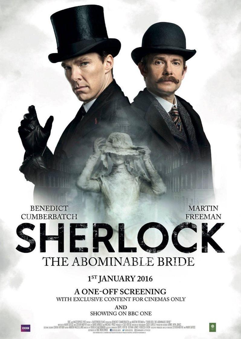 <strong><em>Sherlock</em></strong> Abominable Bride Poster photo 3