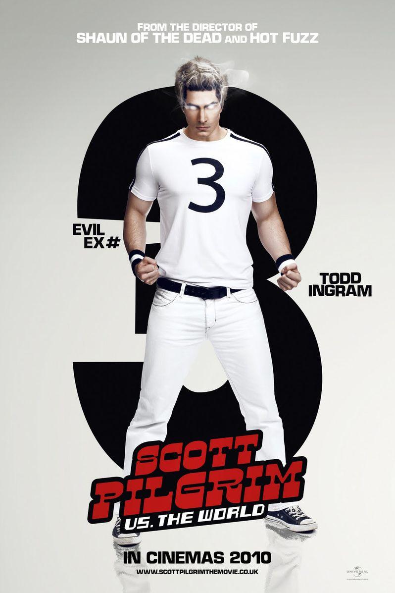 <strong><em>Scott Pilgrim Vs. the World</em></strong> Brandon Routh Character Poster