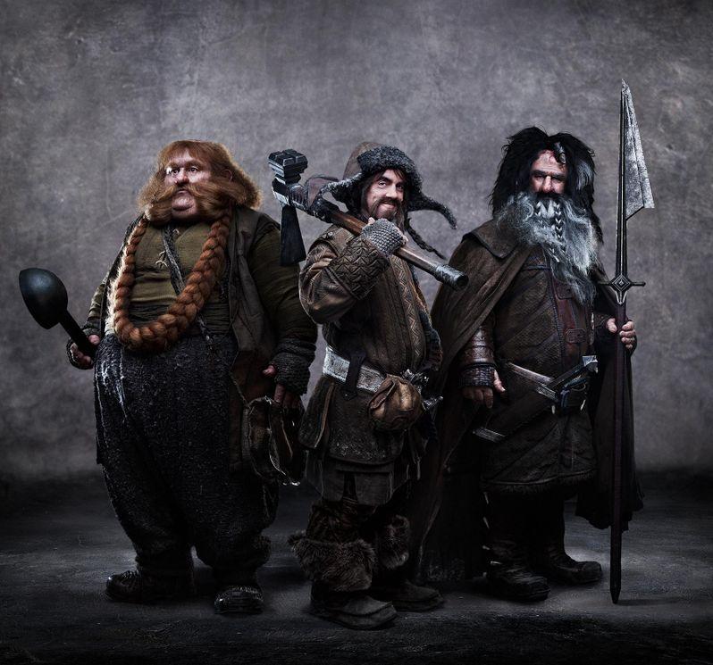 The Hobbit Bofur, Bombur, and Bifur Photo
