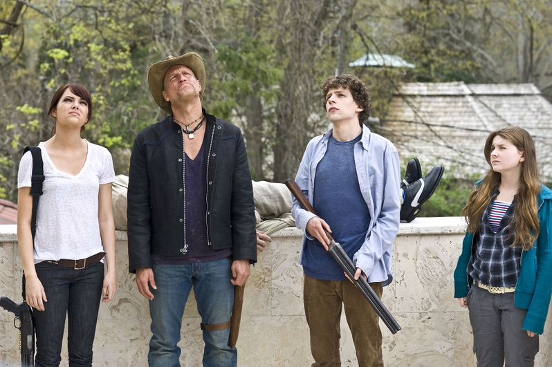 The cast of <strong><em>Zombieland</em></strong>