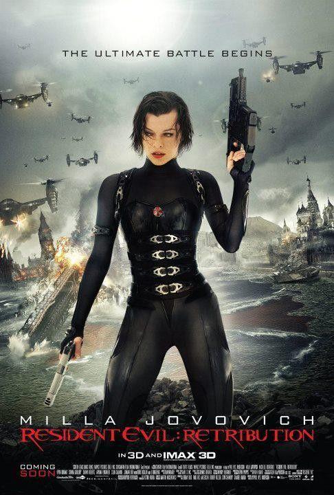 <strong><em>Resident Evil: Retribution</em></strong> International Poster #2