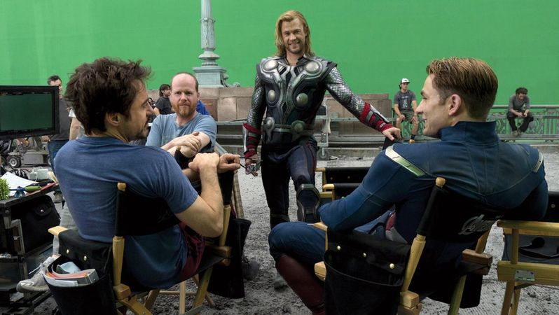 The Avengers special FX photo 1a