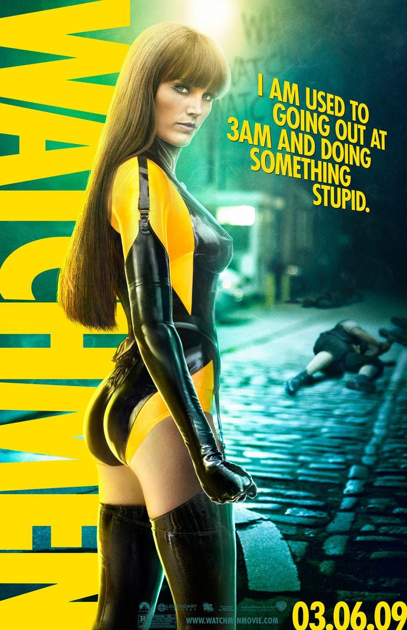 <strong><em>Watchmen</em></strong> Character Poster #4
