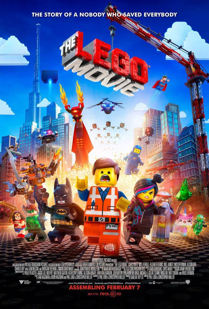 <strong><em>The Lego Movie</em></strong> Final Poster