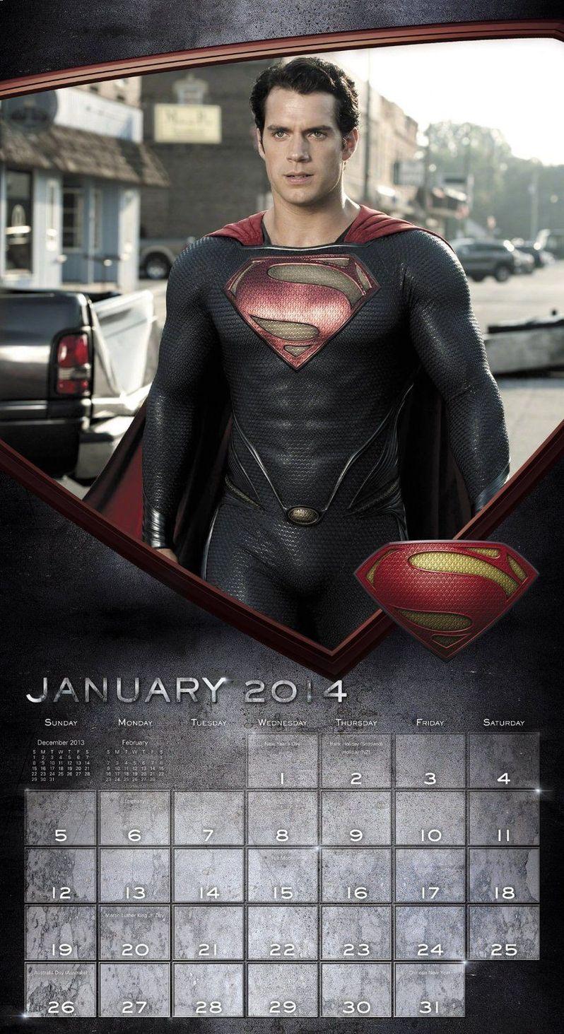 <strong><em>Man of Steel</em></strong> Wall Calendar 3