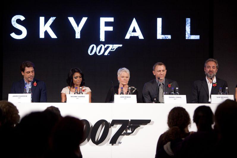 <strong><em>Skyfall</em></strong> London Press Conference photo 5