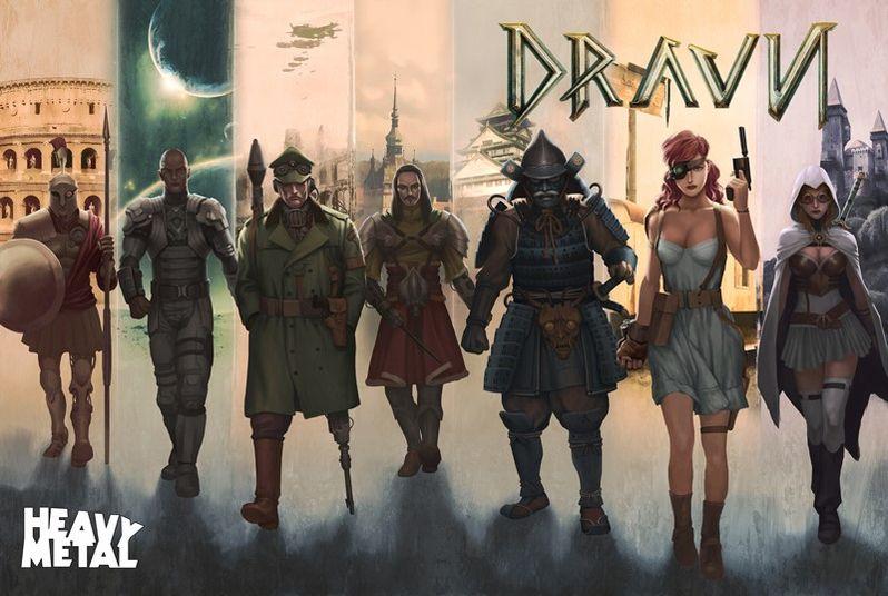 <strong><em>Dravn</em></strong> Concept Art 5