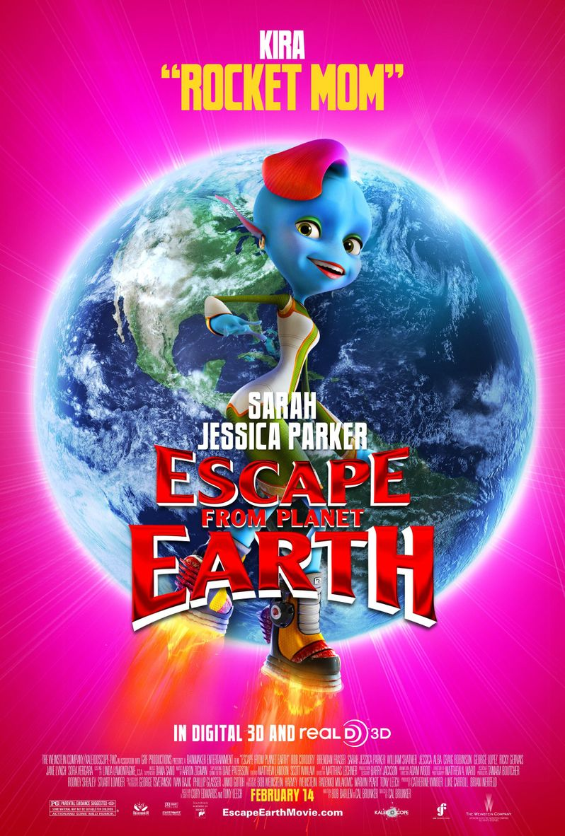 Escape From Planet Earth Kira Supernova Character Poster