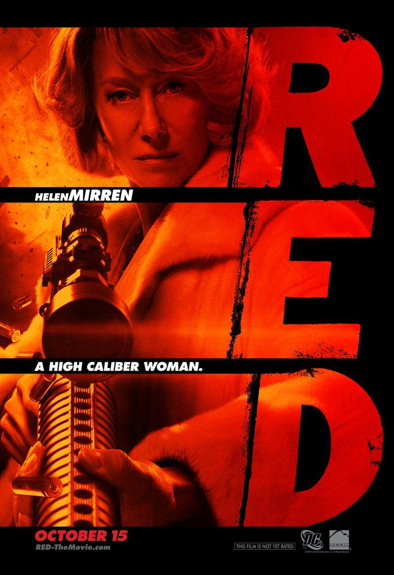 <strong><em>Red</em></strong> Helen Mirren character poster