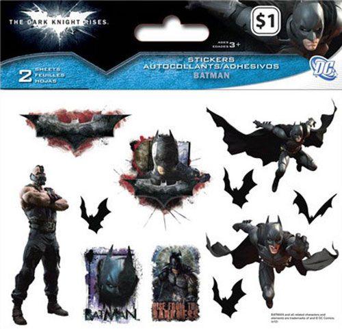 <strong><em>The Dark Knight Rises</em></strong> Sticker Photos