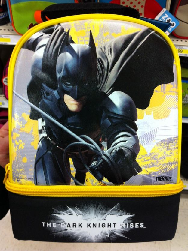 <strong><em>The Dark Knight Rises</em></strong> Lunch Box #4