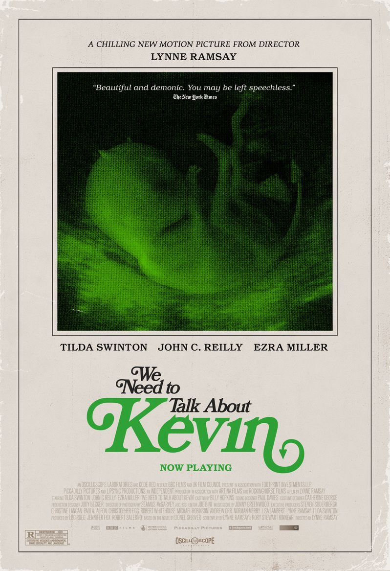 <strong><em>We Need to Talk About Kevin</em></strong> Retro Poster