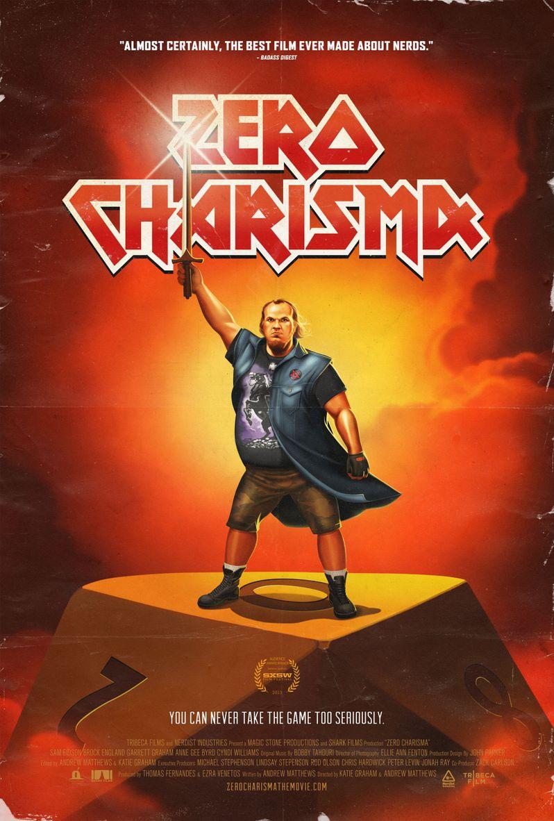 <strong><em>Zero Charisma</em></strong> Poster