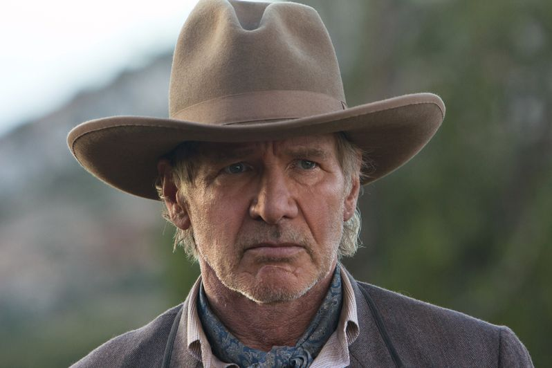 Harrison Ford is Col. Woodrow Dolarhyde