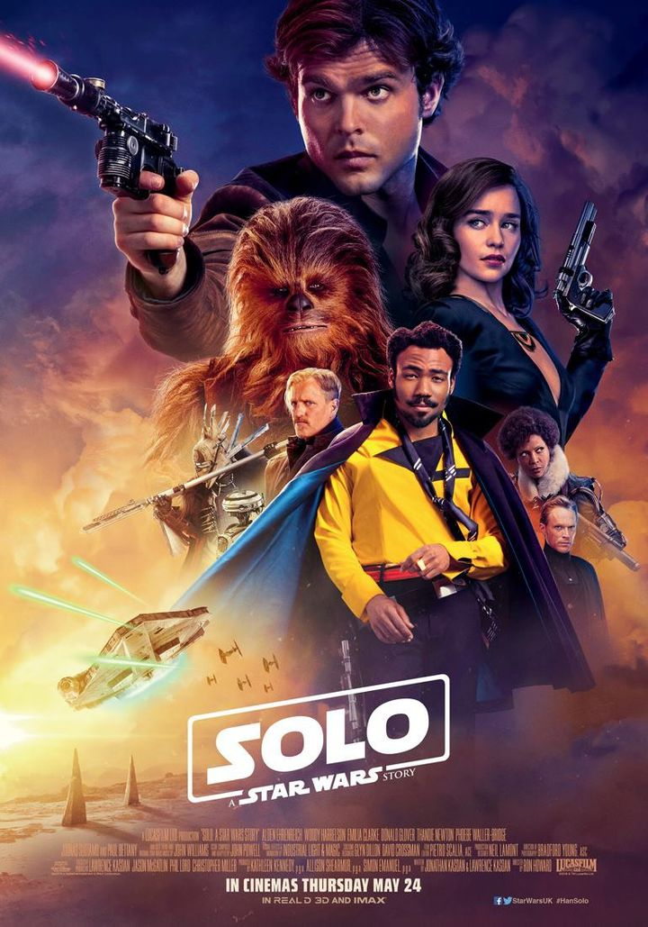Solo A Star Wars Story Movie Emilia Clarke Qi/'Ra Art Silk Poster 13x20 24x36-02
