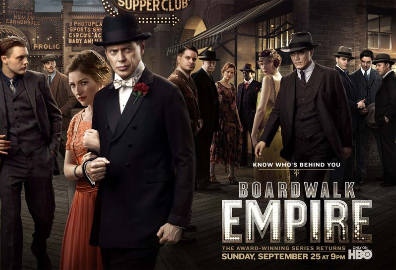 <strong><em>Boardwalk Empire</em></strong> Season 2 Poster