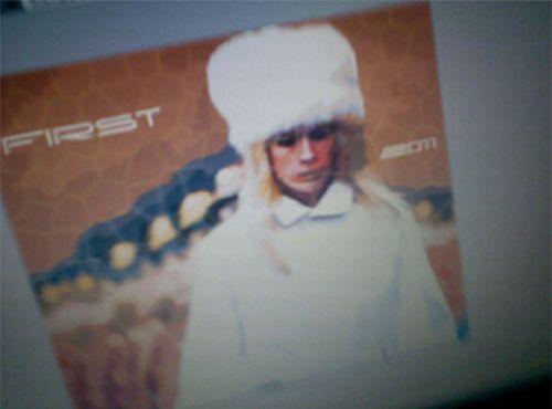 January Jones as Emma Frost Promo