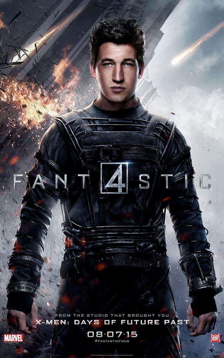 <strong><em>Fantastic Four</em></strong> Mr. Fantastic Character Poster