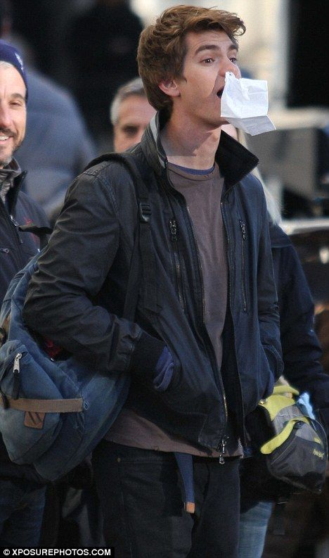 <strong><em>The Amazing Spider-Man</em></strong> NYC Set Photo #7
