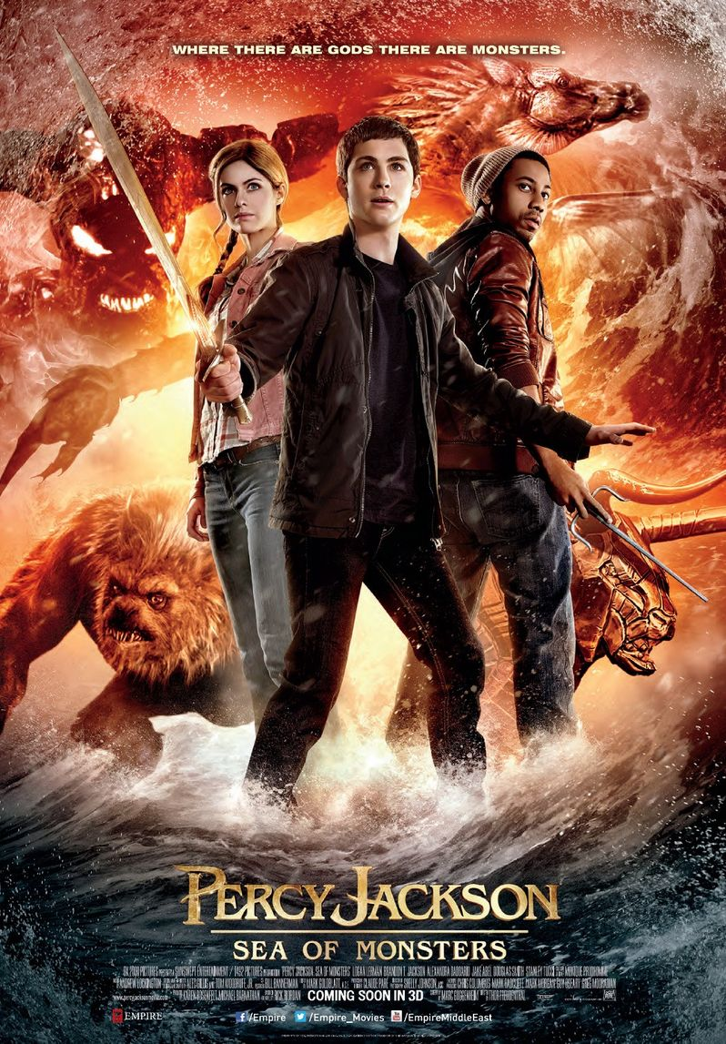 <strong><em>Percy Jackson: Sea of Monsters</em></strong> Poster 2