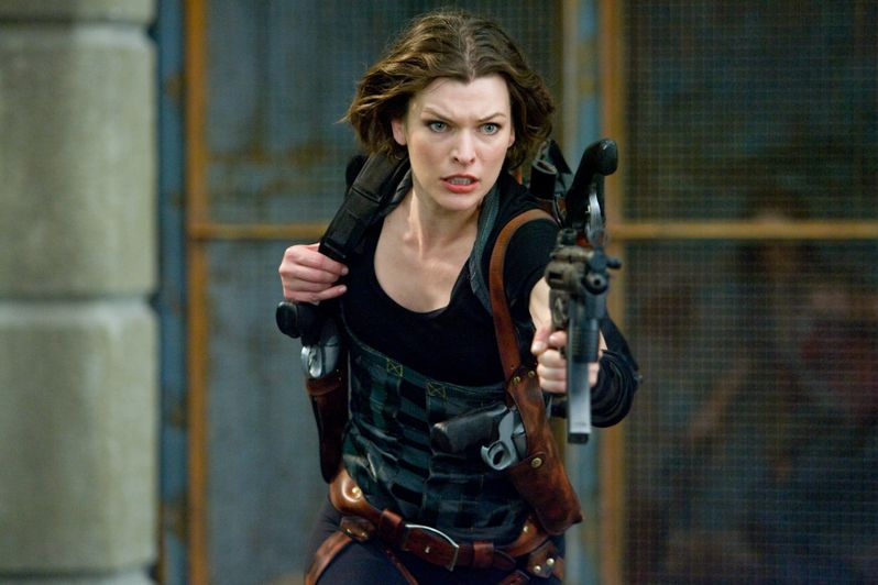 Milla Jovovich in <strong><em>Resident Evil: Afterlife</em></strong>