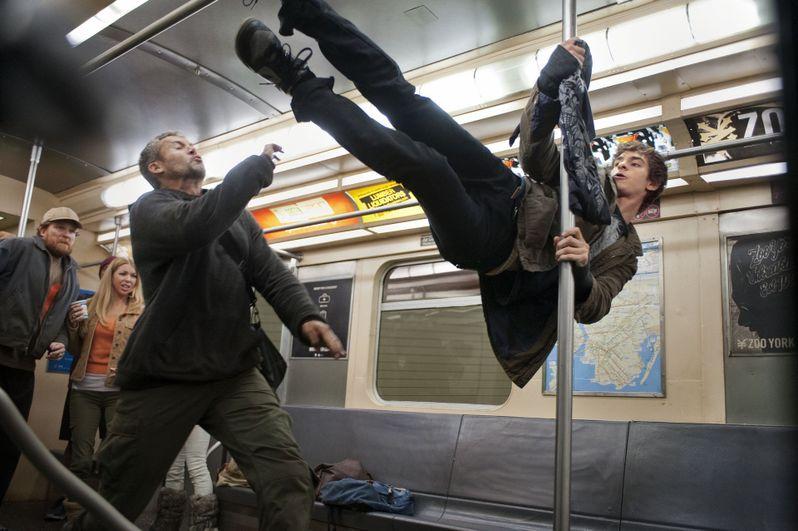 Amazing Spider-Man Subway Photo #1