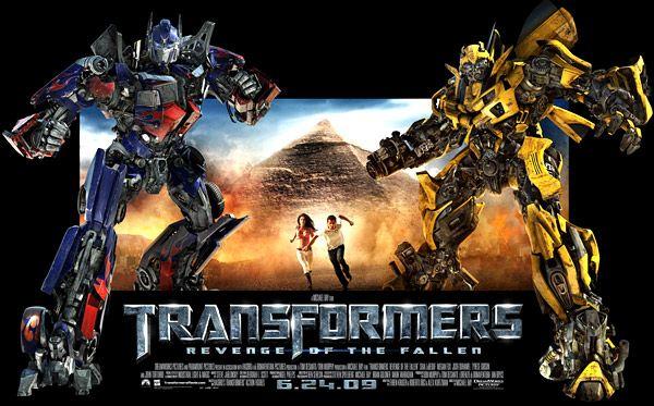 <strong><em>Transformers: Revenge of the Fallen</em></strong> Standee